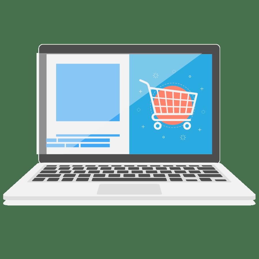 webshop responsive door Rubix marketing